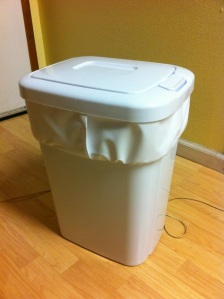 DIY Cloth Diaper Pail Liner