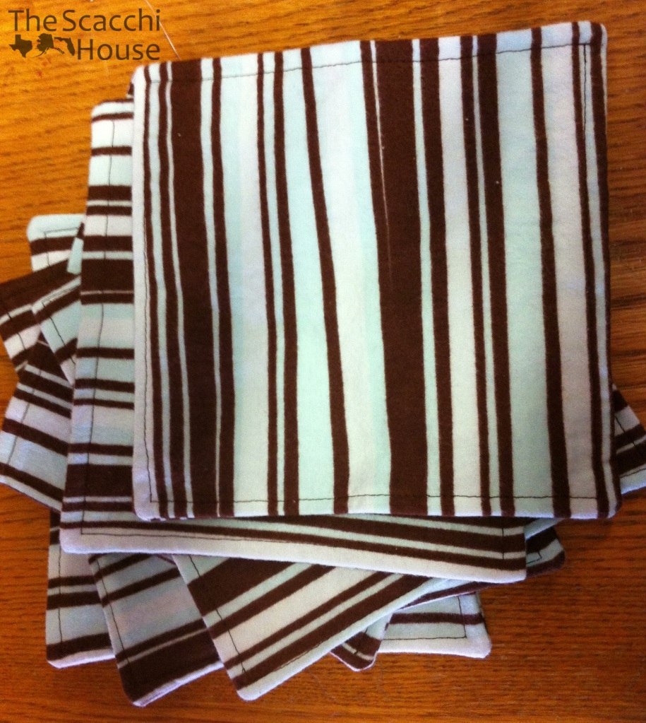 The Scacchi House: Sew Your Own Cloth Paper Towels