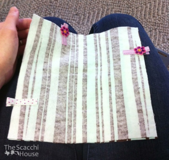 The Scacchi House: Sewing Cloth Paper Towels