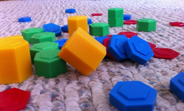 Colorful Blocks Homeschool Preschool