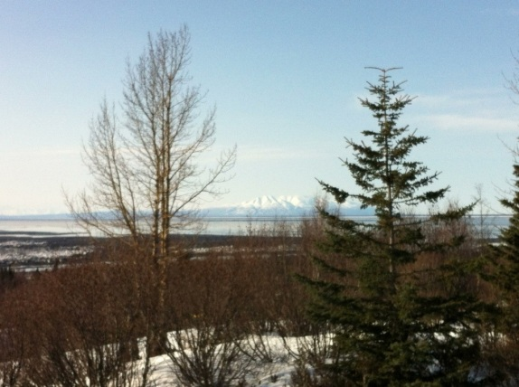 View from Anchorage, Alaska