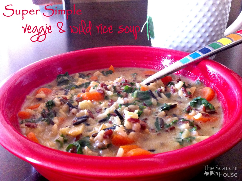 The Scacchi House: Veggie and Wild Rice Soup