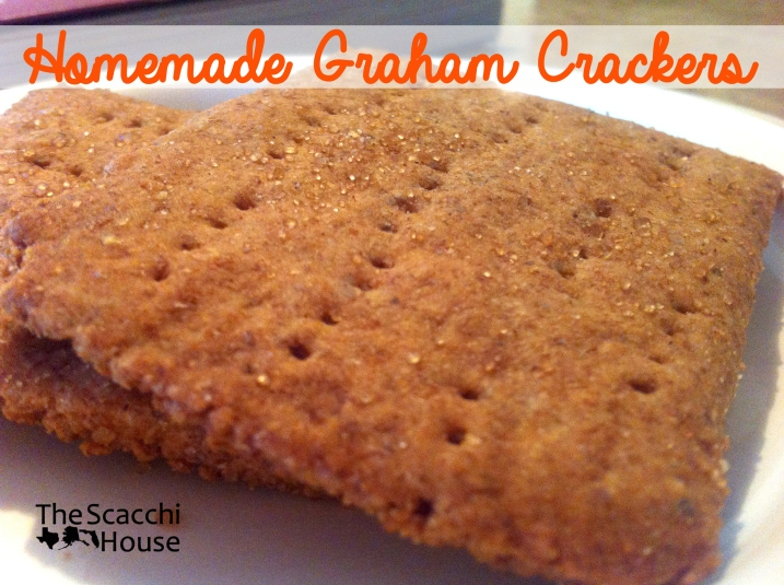 Homemade Graham Crackers copy